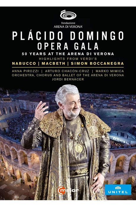 OPERA GALA: 50 YEARS AT THE ARENA DI VERONA [플라시도 도밍고: 오페라 갈라 - 베로나 데뷔 50주년] [한글자막]