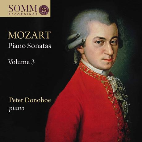 PIANO SONATAS VOL.3/ PETER DONOHOE [모차르트 피아노 소나타 3집 - 피터 도노호]