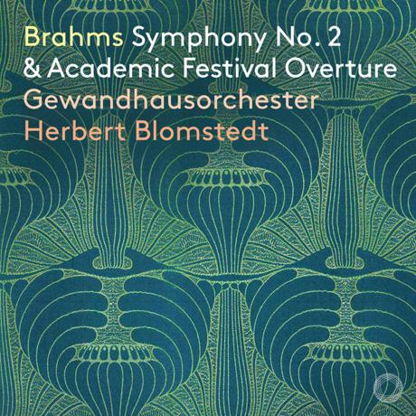 SYMPHONY NO. 2 & ACADEMIC FESTIVAL OVERTURE/ HERBERT BLOMSTEDT [브람스: 교향곡 2번, 대학축전 서곡 - 블롬슈테트]
