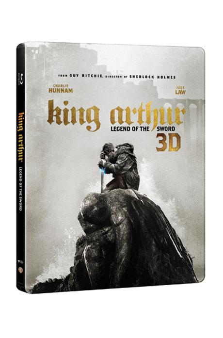 [쿨세일] 킹 아서: 제왕의 검 3D+2D [스틸북 한정판] [KING ARTHUR: LEGEND OF THE SWORD]