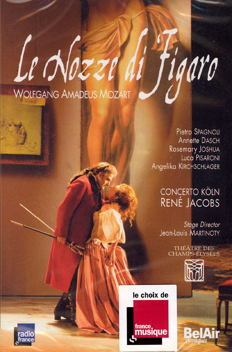 모차르트: 피가로의 결혼/ 르네 야콥 [MOZART LE NOZZE DI FIAGRO/ RENE JACOBS]
