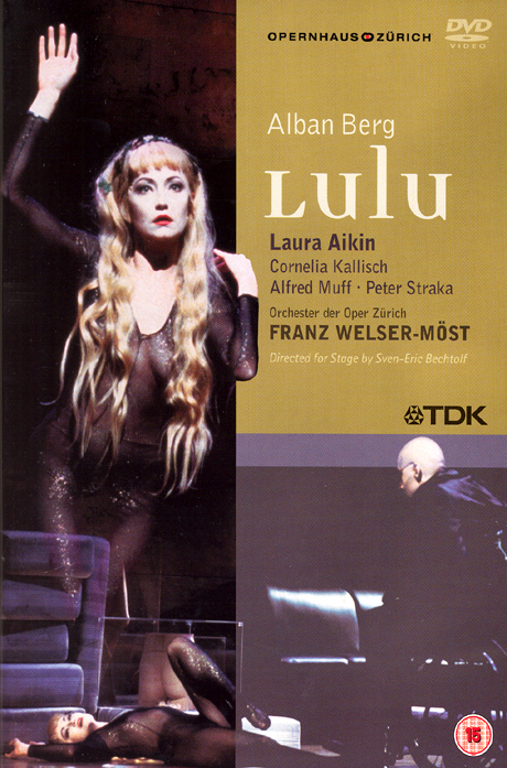 LULU/ LAURA AIKIN/ FRANZ WELSER-MOST [알반 베르크: 룰루]
