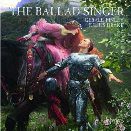THE BALLAD SINGER/ GERALD FINLEY, JULIUS DRAKE