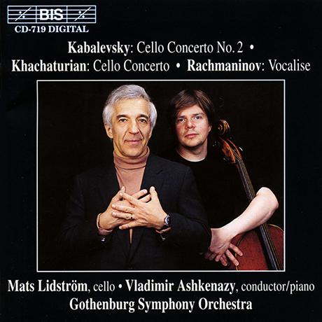 CELLO CONCERTO, VOCALISE/ ASHKENAZY