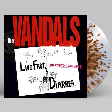 LIVE FAST DIARRHEA [25TH ANNIVERSARY] [BROWN SPLATTER LP]