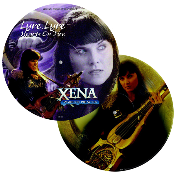 XENA: WARRIOR PRINCESS: LYRE, LYRE HEARTS ON FIRE [여전사 지나] [PICTURE DISC LP]