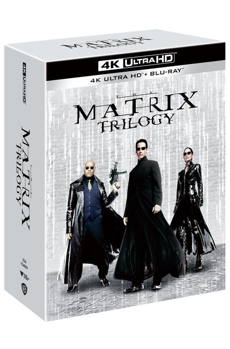 매트릭스 트릴로지 4K UHD+BD [리패키지] [THE MATRIX TRILOGY]