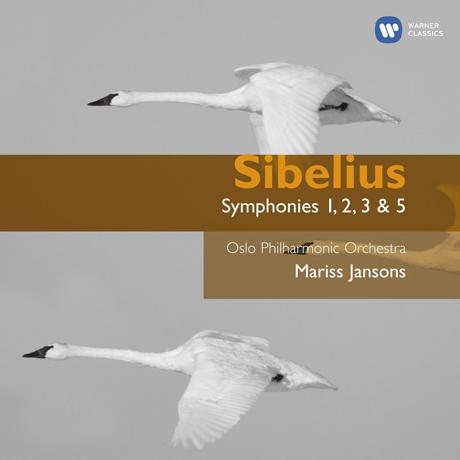 SYMPHONIES 1, 2, 3 & 5/ MARISS JANSONS [시벨리우스: 교향곡 - 마리스 얀손스]
