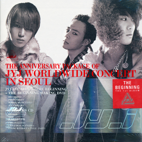 THE BEGINNING: THE ANNIVERSARY PACKAGE OF JYJ WORLDWIDE CONCERT IN SEOUL [2CD+DVD]