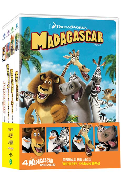 마다가스카 4 무비 콜렉션 [4 MADAGASCAR MOVIES]