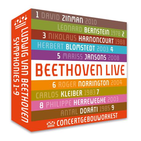 SYMPHONIES 1-9/ CONCERTGEBOUWORKEST [베토벤: 교향곡 1-9번]