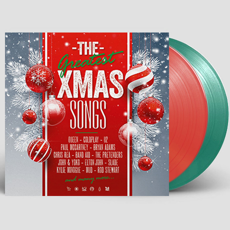 THE GREATEST X-MAS SONGS [CLEAR GREEN & CLEAR RED] [180G LP] [한정반]