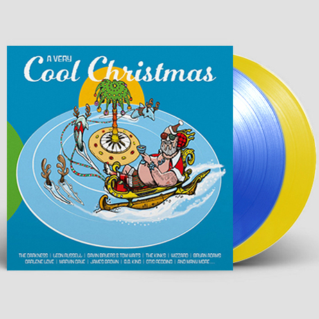 A VERY COOL CHRISTMAS [CLEAR BLUE & CLEAR YELLOW] [180G LP] [한정반]