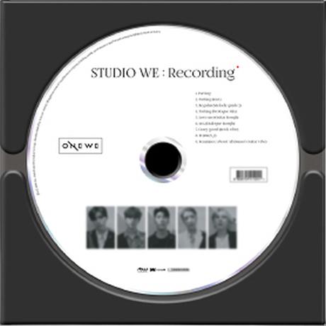 STUDIO WE: RECORDING [싱글 1집] [데모앨범]