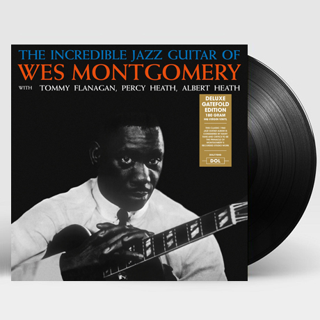 THE INCREDIBLE JAZZ GUITAR OF WES MONTGOMERY [DELUXE] [180G LP]