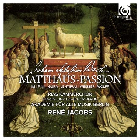 MATTHAUS PASSION/ RENE JACOBS [2SACD+1DVD] [바흐: 마태 수난곡]