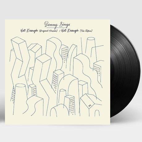 """NOT ENOUGH/ NOT ENOUGH [TUXEDO REMIX] [일본 레코드데이 한정반] [7"""" SINGLE LP]"""