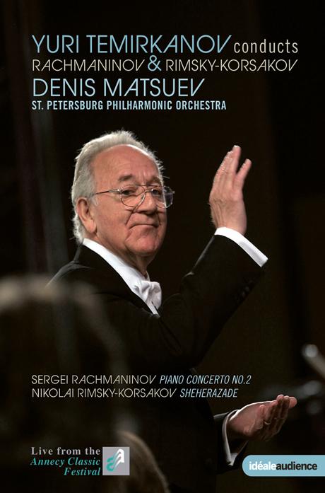 PIANO CONCERTO NO.2 & SHEHERAZADE/ YURI TEMIRKANOV [라흐마니노프: 피아노협주곡 2번 & 림스키-코르사코프: 세헤라자데 외]