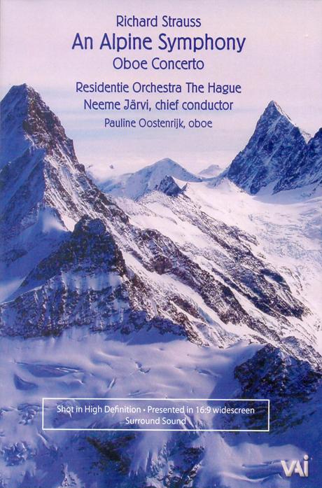 AN ALPINE SYMPHONY, OBOE CONCERTO/ NEEME JARVI, PAULINE OOSTENRIJK