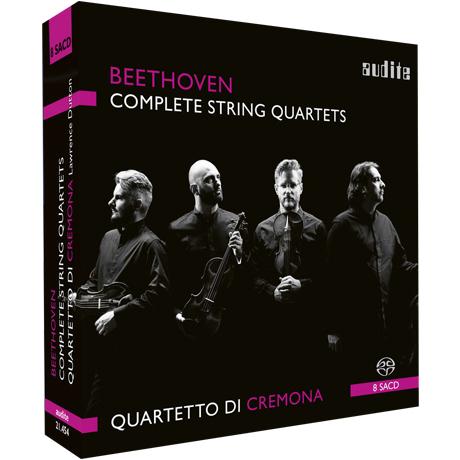 COMPLETE STRING QUARTETS/ QUARTETTO DI CREMONA [SACD HYBRID] [베토벤: 현악사중주 전집 - 크레모나 사중주단]