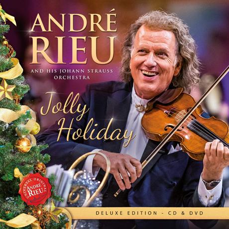 JOLLY HOLIDAY/ JOHANN STRAUSS ORCHESTRA [CD+DVD] [앙드레 류: 즐거운 성탄절]
