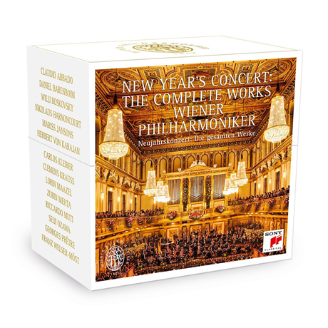 NEW YEAR'S CONCERT: THE COMPLETE WORKS/ WIENER PHILHARMONIKER [신년 음악회: 빈 필하모니커]
