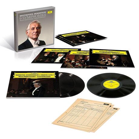 9 SYMPHONIES/ LEONARD BERNSTEIN [베토벤: 교향곡 전곡 - 번스타인] [넘버링 한정반] [180G LP]