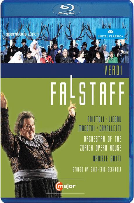 FALSTAFF/ DANIELE GATTI [베르디: 팔스타프] [블루레이 전용플레이어 사용]