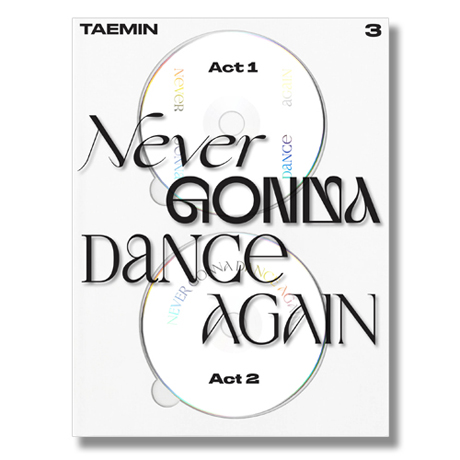 NEVER GONNA DANCE AGAIN [EXTENDED VER] [정규 3집]