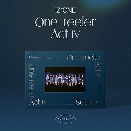 ONE-REELER/ ACT Ⅳ [미니 4집] [SCENE #2 VER] [1회차 응모]