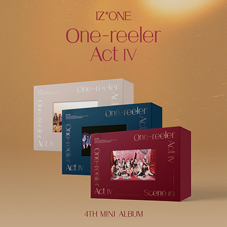 ONE-REELER/ ACT Ⅳ [미니 4집] [3종 세트] [2회차 응모]