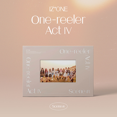ONE-REELER/ ACT Ⅳ [미니 4집] [2회차 응모]