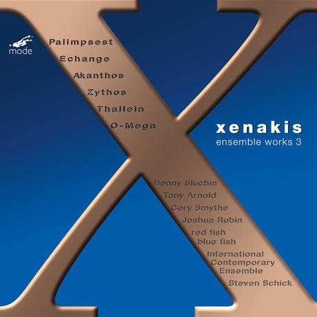 ENSEMBLE WORKS 3/ STEVEN SCHICK [크세나키스: 앙상블 음악 3집 - 인터내셔널 컨템포러리 앙상블]