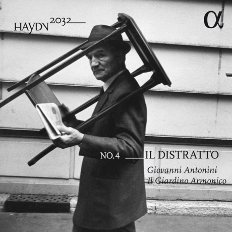 IL DISTRATTO/ IL GIARDINO ARMONICO, GIOVANNI ANTONINI [하이든 2032 프로젝트 4집: 교향곡 60번 <멍청이> 70, 12번 - 일 지아르디노 아르모니코]