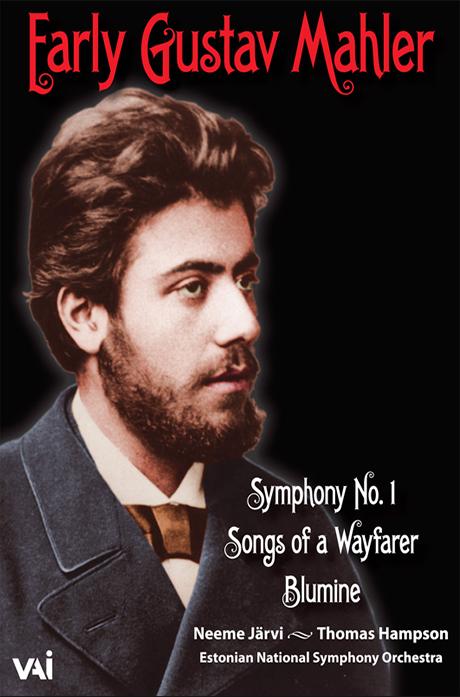 SYMPHONY NO.1, SONGS OF A WAYFARER/ THOMAS HAMPSON, NEEME JARVI [말러: 교향곡 1번, 방황하는 젊은이의 노래, 블루미네]