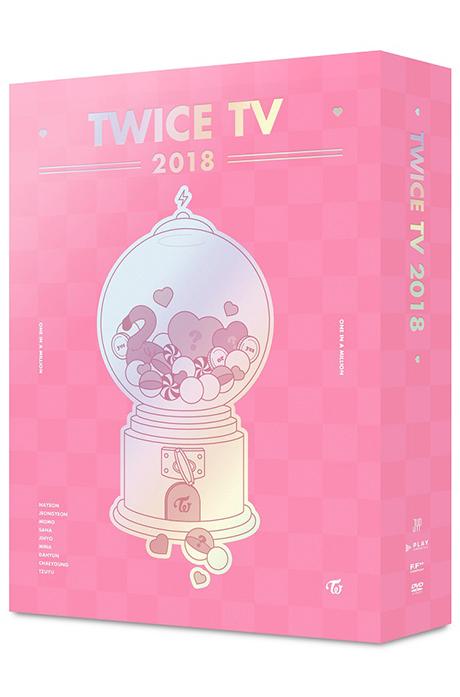 TWICE TV 2018 [4DVD+포토카드]