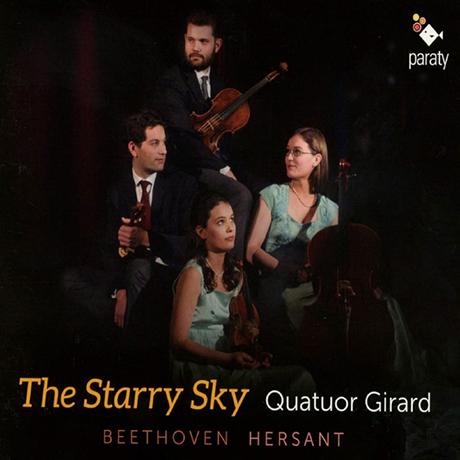 THE STARRY SKY/ QUATUOR GIRARD [베토벤: 현악 4중주 8번 & 에르상: 현악 4중주 4번 - 지라르 사중주단]