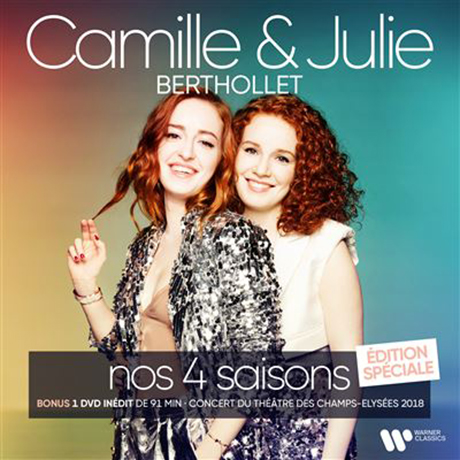NOS 4 SAINSONS/ CAMILLE BERTHOLLET, JULIE BERTHOLLET [CD+DVD] [비발디: 사계 - 카미유 & 줄리 베르톨레] [한정반]