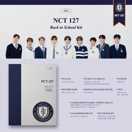 [TAEYONG(태용)] 2021 BACK TO SCHOOL KIT
