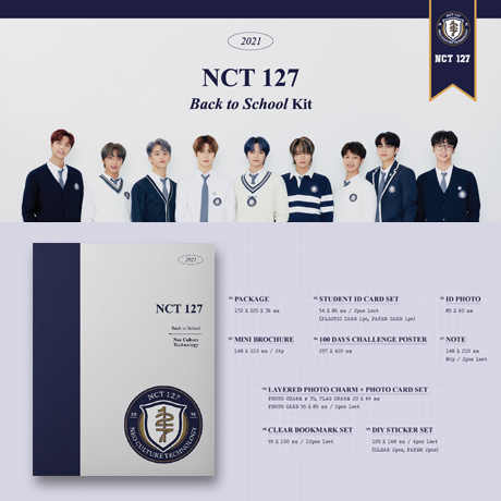 [YUTA(유타)] 2021 BACK TO SCHOOL KIT