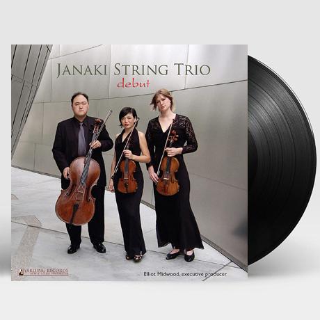 STRING TRIOS - DEBUT/ JANAKI STRING TRIO [펜데레츠키, 베토벤: 현악 3중주 - 야나키 현악 트리오] [180G 45RPM LP]