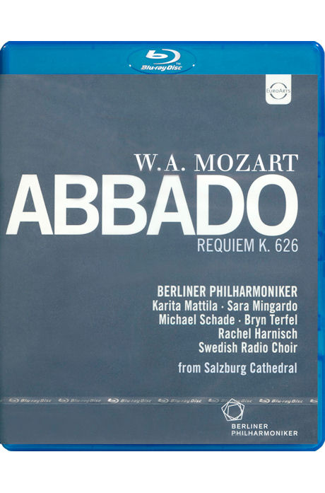REQUIEM K.626/ CLAUDIO ABBADO [모차르트: 레퀴엠, 라우다테 도미눔, 콘서트아리아]