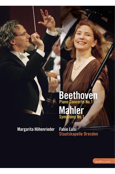 BEETHOVEN PIANO CONCERTO NO.1, MAHLER SYMPHONY NO.1/ FABIO LUISI [베토벤 피아노협주곡 1번, 말러 교향곡 1번]