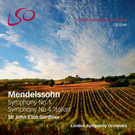 SYMPHONY NO.1 & NO.4 'ITALIAN'/ JOHN ELIOT GARDINER [SACD+BD] [멘델스존: 교향곡 1 & 4번 <이탈리아>]