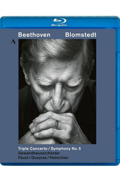 TRIPLE CONCERTO & SYMPHONY NO.5/ HERBERT BLOMSTEDT [베토벤: 삼중협주곡 & 교향곡 5번 <운명> - 블롬슈테트]