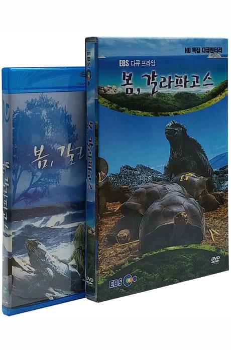 EBS 봄 갈라파고스 합본 시리즈 [DVD+블루레이]