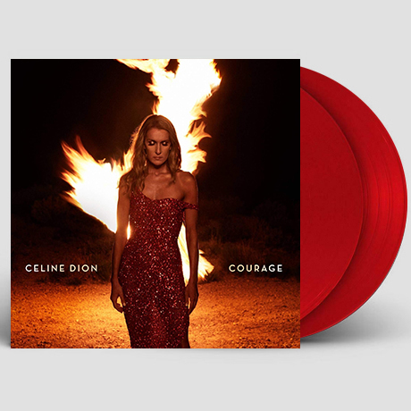 COURAGE [RUBY RED LP]