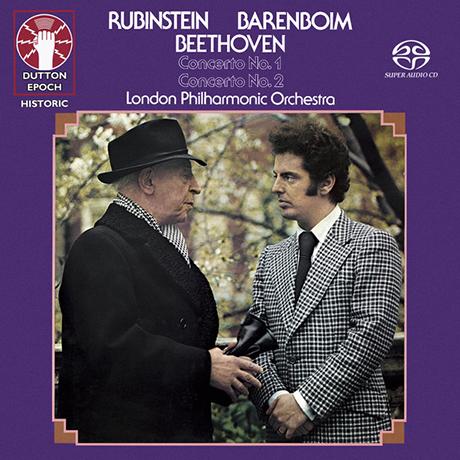PIANO CONCERTOS NOS.1 & 2/ ARTHUR RUBINSTEIN, DANIEL BARENBOIM [SACD HYBRID] [베토벤: 피아노 협주곡 1, 2번 - 루빈스타인, 바렌보임]