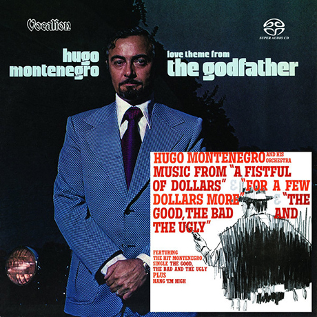 LOVE THEME FROM THE GODFATHER & MUSIC FROM A FISTFUL OF DOLLARS, FOR A FEW DOLLARS MORE, THE GOOD, THE BAD AND THE UGLY [SACD HYBRID]