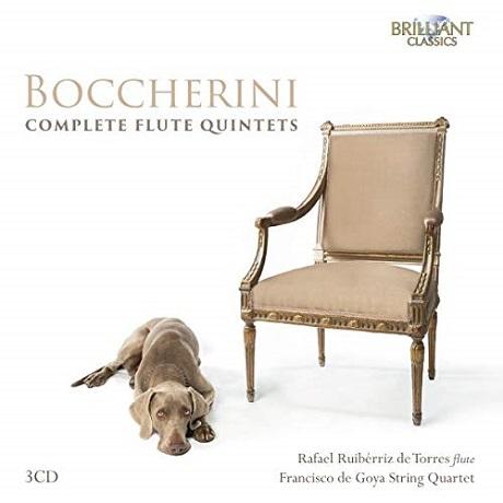 보케리니: 플루트 오중주 전곡 (3CD)